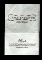 Tovagliolino Da Caffè - Casa Infante Gelati ( Napoli ) - Servilletas Publicitarias