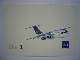 Avion / Airplane / SAS - BLUE 1 / Avro RJ 85 / Airline Issue - 1946-....: Ere Moderne