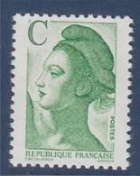 Liberté De Gandon N°2615 Neuf (2.10) Lettre C Vert - 1982-90 Liberté De Gandon
