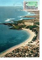 CARTE MAXIMUM  HOTEL ET BAIE DE N'GOR  1966 - Senegal (1960-...)