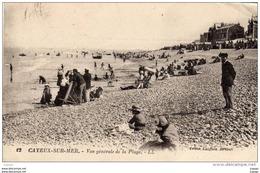 CAYEUX -SUR-MER Vue Générale De La Plage. Carte écrite En 1923 - Cayeux Sur Mer