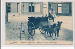 SULLY-sur-LOIRE : Attelage De Chiens, Le Boulanger - Tres Bon Etat - Sully Sur Loire