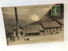 Chedde Prés De Megève  L'usine Electro Chimique   Haute Savoie  74 - France