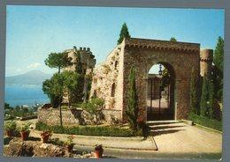 °°° Cartolina - Castellammare Di Stabia Castello Angioino Viaggiata °°° - Napoli (Nepel)