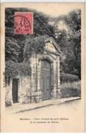 SCEAUX : Porte D'entrée Du Petit Château De La Marquise De Trévise - Très Bon état - Sceaux