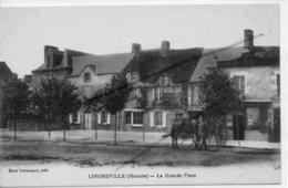 LINGREVILLE   LA GRANDE PLACE RARE EDITEUR - Francia