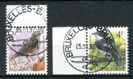 (B) 2653/2654 MNH** FDC 1996 - Vogels. - Belgien