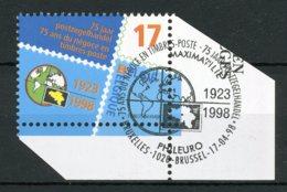 (B) 2752 MNH** FDC 1998 - 75 Jaar Belgische Postzegelhandel. - Belgien