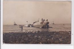 LA ROCHELLE : Carte Photo D'un Accident De Sous Marin (marine)- TBE - La Rochelle