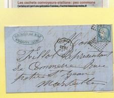 LES CONVOYEURS STATIONS - 1871-1875 Cérès