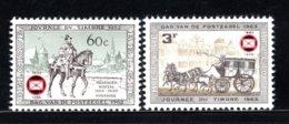 1395/1396 MNH 1966 - 75e Verjaardag Van De Belgische Postzegelkringen - Nuovi