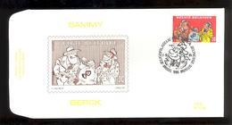 FDC - Sammy / Berck- B.D. -  Timbre N° 2619 - Tampon Brussel - FDC
