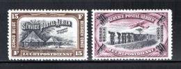 BEL. CONGO PA5/6 MNH 1930 - Diverse Landschappen Met Vliegtuig - Belgian Congo