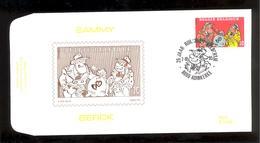 FDC - Sammy / Berck- B.D. -  Timbre N° 2619 - Tampon Adinkerke - FDC