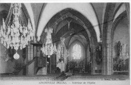 LINGREVILLE  INTERIEUR DE L'EGLISE - Autres Communes
