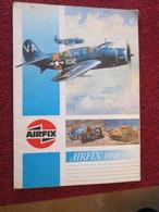 CAGI5  CATALOGUE MAQUETTES PLASTIQUE AIRFIX DE 1988 EN ANGLAIS , 32 Pages En Couleurs - Grande-Bretagne