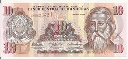 HONDURAS 10 LEMPIRAS 2010 UNC P 86 E - Honduras