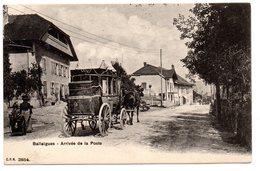 D7. Ballaigues: Arrivée De La Poste - VD Vaud