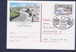 Germany Postal Stationary 1988 Europa CEPT W/print Werkbundsiedlung Weissenrot Stuttgart Used (G111-23) - [7] Federal Republic