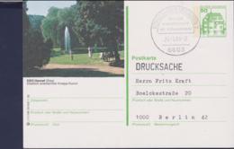 Germany Postal Stationary 1982 Buildings W/print Hennef Used (G111-23) - [7] Federal Republic