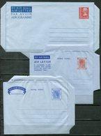 F0233 - HONG KONG - 3 Verschiedene Ungebrauchte Luftpost-Ganzsachen - Postal Stationery