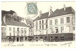 PONTOISE (95) - Place Du Pont - Ed. A. Breger Frères, Paris - Pontoise