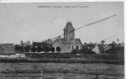 LINGREVILLE  L'EGLISE VUE DE TOURNEVILLE - Francia