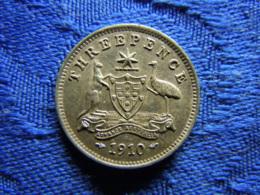 AUSTRALIA 3 PENCE 1910, KM18 - Autriche