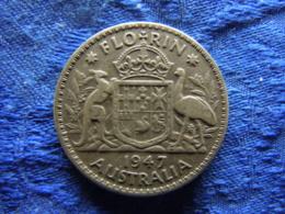 AUSTRALIA FLORIN 1947, KM40a - Autriche