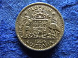 AUSTRALIA FLORIN 1954, KM54 - Autriche