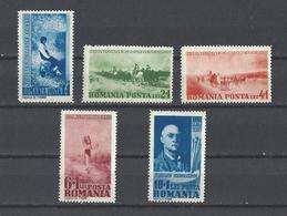 ROUMANIE.  YT  N° 547/551  Neuf **  1939 - Ungebraucht