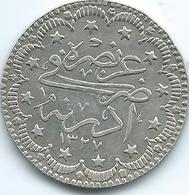 Turkey - Ottoman - Mohammed V - AH1327 / 2 (1910) - 5 Kurus - KM791 - Edirne Mint Visit - Turquia