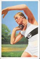 Olympia 1936 - BERLIN - Gisela Mauermayer, München - Trading Cards
