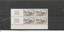 FRANCE Serie Touristique Bloc De 4  N° 1712** - 1970-1979