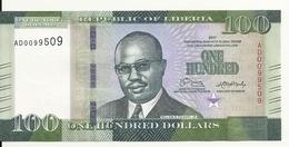 LIBERIA 100 DOLLARS 2017 UNC P 35 B - Liberia