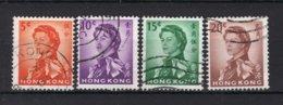 HONG KONG Yt. 194/197° Gestempeld 1962-1967 - Hong Kong (...-1997)