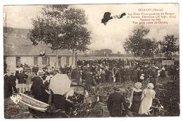 SEZANNE (51) - Les Fêtes D' Inauguration Du Hangar Et Terrain D' Aviation (28 Sept. 1913) - Sezanne