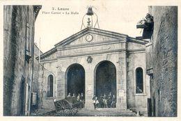 11 - Aude - Laure Minervois Place Carnot - La Halle  - 1 /2 De Carte Palau Coté Correspondance - Other Municipalities