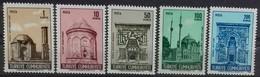 TURQUIE TURKEY N° 1897 à 1901 COTE 7 €  NEUFS ** MNH 1969 MONUMENTS - Neufs