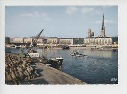 Rouen Le Port, La Cathédrale - Quai Chargement Bois Bateau (n°311) - Rouen