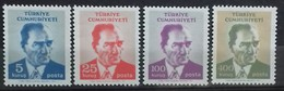 TURQUIE TURKEY N° 1994 à 1997 COTE 8,50 €  NEUFS ** MNH 1971 ATATURK - 1921-... Republik