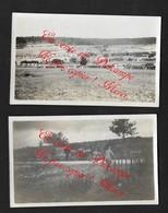 Blercourt Près Verdun Meuse / 1916 Militaria Guerre WW1 / 2 Photos 6X10,5cm - 1914-18