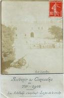 TOULON FORT LAMALGUE CONCOURS DE TIR 1908 Carte-photo - Toulon