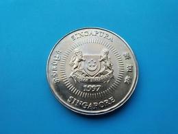 SINGAPOUR   -  50 Cents  1997   -- SPL --    SINGAPORE - Singapur