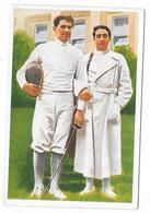 Olympia 1936 - BERLIN - Kabos, Ungarn, Und Marzi, Italien - Trading Cards