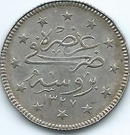Turkey - Ottoman - Mohammed V - AH1327 / 1 (1909) - 2 Kurus - KM785 - Bursa Mint Visit - Turquia
