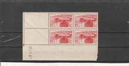 FRANCE Monuments Et Sites Bloc De 4 Coin Daté   N° 777** - 1940-1949