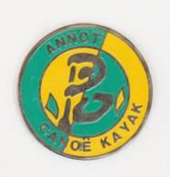Pin's  ANNOT (04) - CANOE KAYAK - Sportif Stylisé -  J416 - Canoa