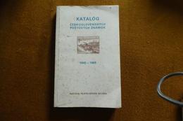CATALOGUE CESKOSLOVENSKO ANNEE 1945 A 1969 ECRIT EN TCHEQUE - Catalogues De Cotation