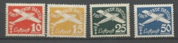 Danzig  1938  Mi.Nr.:298-301  Air Mail Issue . Watermark 5 Mint Hinged X - Danzig